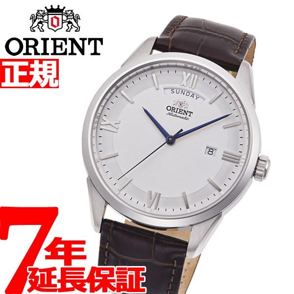 【5日0時~♪2000円OFFクーポン&店内ポイント最大51倍!5日23時59分まで】オリエント 腕時計 メンズ 自動巻き 機械式 ORIENT コンテンポラリー CONTEMPORARY ワイドカレンダー RN-AX0008S【2020 新作】