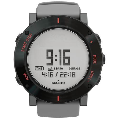 슨 트 코어 SUUNTO Core 회색 충돌 GRAY CRUSH 시계 디지털 SS020691000