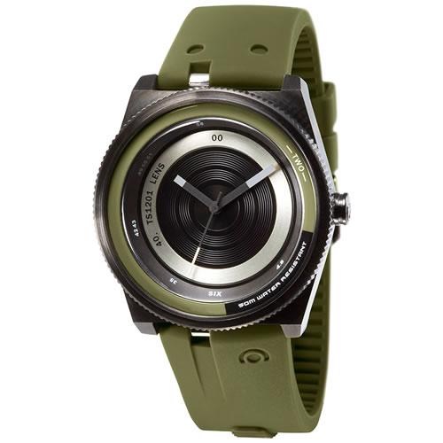 TACS タックス 腕時計 COLOR LENS カラーレンズ グリーン&ブラック TS1201B