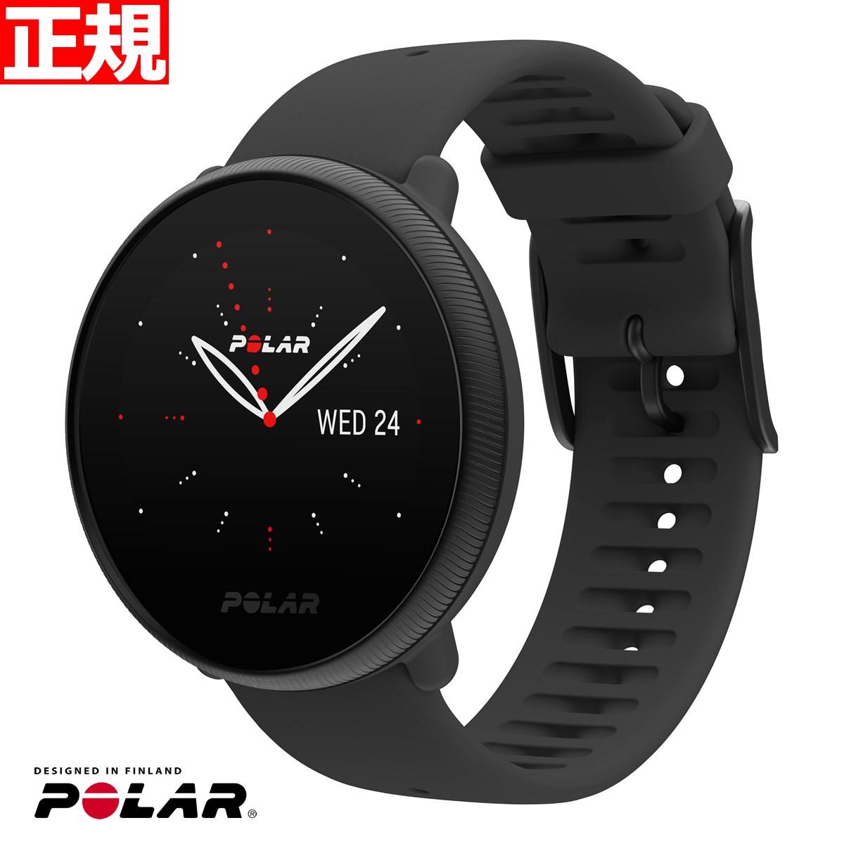 [正規品][送料無料][ラッピング無料] 【店内ポイント最大34.5倍!】POLAR ポラール IGNITE2 イグナイト2 ブラックパール S-Lサイズ 90085182 腕時計 GPS フィットネス スマートウォッチ ウェアラブル 心拍 活動量計 日本正規品【2021 新作】