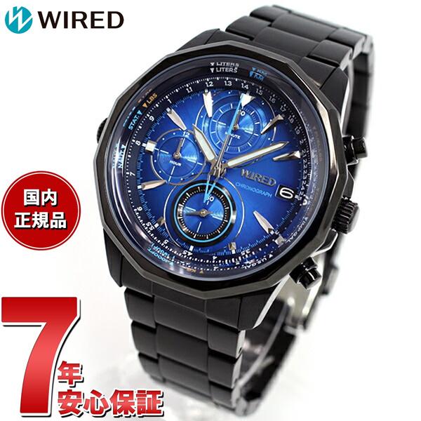 ニールがお得!今ならポイント最大39倍!10日23時59分まで! セイコー ワイアード SEIKO WIRED 腕時計 メンズ THE BLUE ザ・ブルー SKY クロノグラフ AGAW421