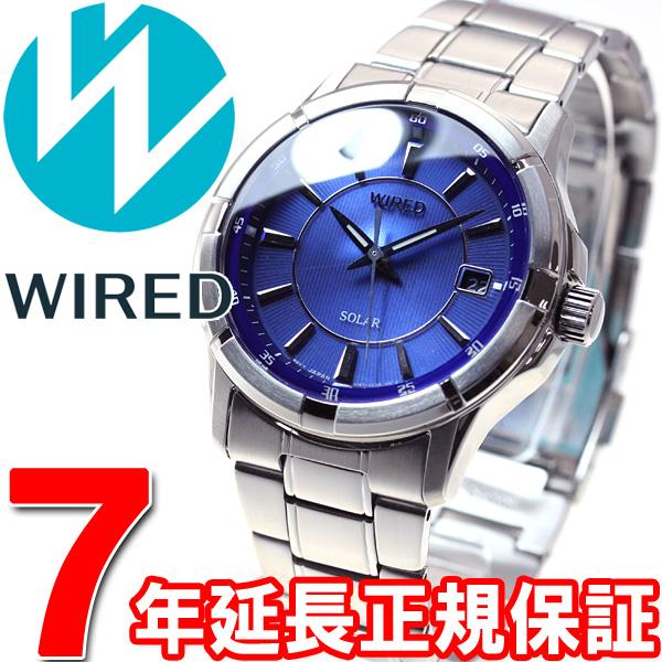 セイコー ワイアード SEIKO WIRED ソーラー 腕時計 メンズ ニュースタンダードモデル AGAD067