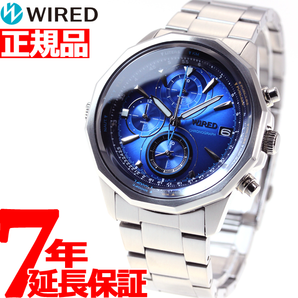 セイコー ワイアード SEIKO WIRED 腕時計 メンズ ザ・ブルー THE BLUE クロノグラフ AGAW439
