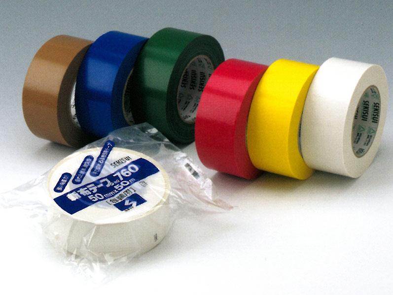 【積水化学工業】 セキスイ 新布テープ No.760 各色 (60巻入り) 25mmx50m