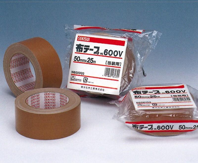 【積水化学工業】 セキスイ 布テープ No.600V ダンボール色 (36巻入り) 38mmx25m