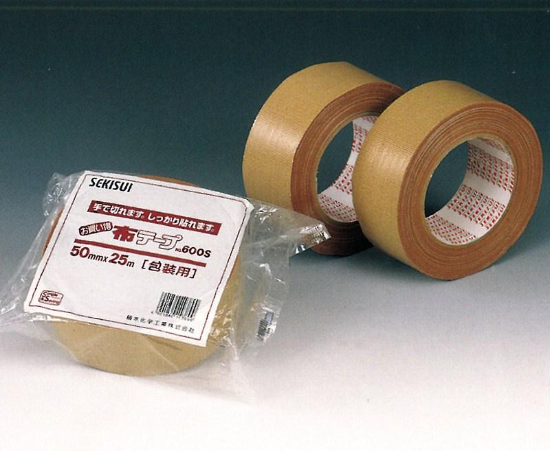 【積水化学工業】 セキスイ 布テープ No.600S ダンボール色 (30巻入り) 50mm×25m