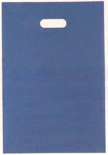 【福助工業】 アームバッグ 手提げ袋 LD メタリックブルー (小) 800枚入 300x450mm