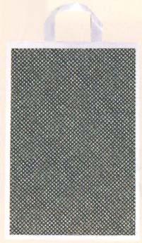 【福助工業】 カルチャー手提げ袋 しぼり (草) 小 500枚入 320x380mm