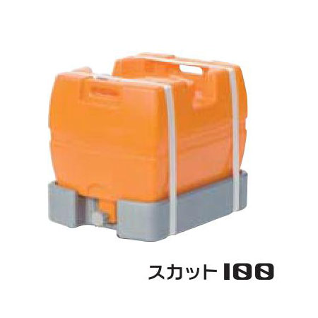 【メーカー直送・代引不可】 スイコー スーパーローリータンク 100L
