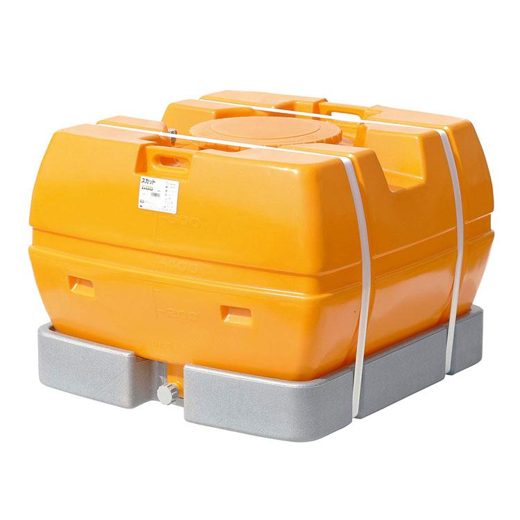 スカット600 SKT(個人宅への配送不可)【スイコー 完全液出しローリータンク 雨水タンク 代金引換不可】