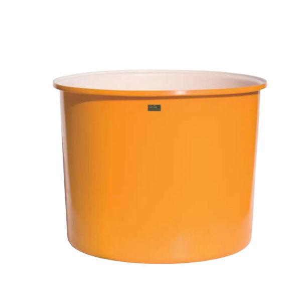 ML-2000 (容量2000L) 幅広 丸型ポリエチレン容器 (二層) ML2000(個人宅への配送不可)【貯蔵容器 フタなし】 【スイコー】 【代金引換不可】