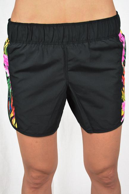 Hurley Supersuede Garden Beachrider Womens Boardshorts XL Black