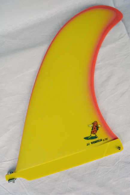 CAPTAIN FIN CO. (キャプテンフィン) LONGBOARD FIN JJ WESSELS PEANUT GALLERY 9.75 ロングボード用 ジェイジェイ・ウェッセルズ ピボット フィン サーフィン SURFING