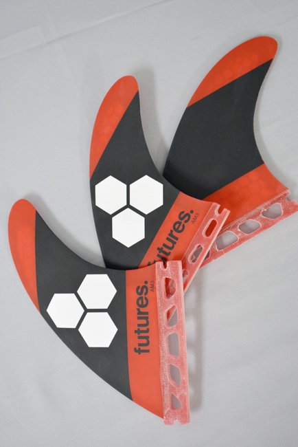 FUTURE FIN (フューチャーフィン) RTM HEX FIN FAM3 RED/BLACK アルメリック サーフィン SURFING