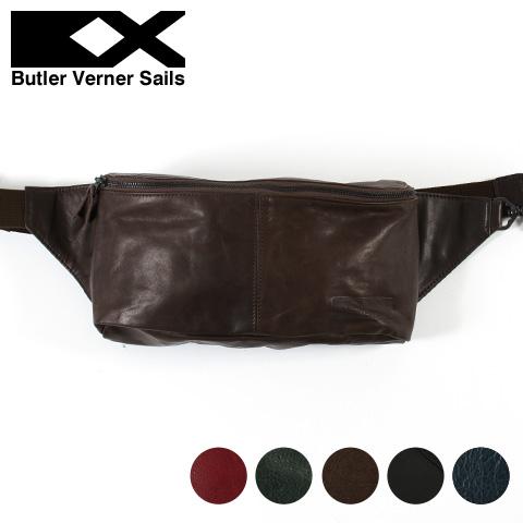 【ボディバッグ】日本製 本革 ポニーレザー ボディバッグ メンズ レディース Butler Verner Sails バトラーバーナーセイルズ ギフト プレゼント