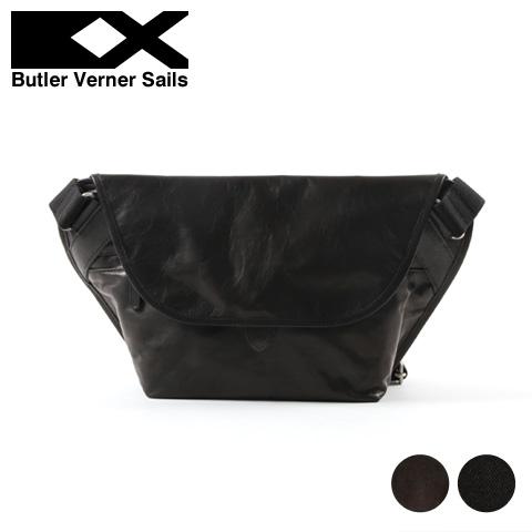 【ショルダーバッグ】日本製 本革 ポニーレザー メッセンジャー バッグ メンズ レディース Butler Verner Sails バトラーバーナーセイルズ ギフト