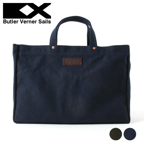 【ショルダーバッグ】日本製 オイル ショルダー トートバッグ メンズ レディース Butler Verner Sails バトラーバーナーセイルズ ギフト