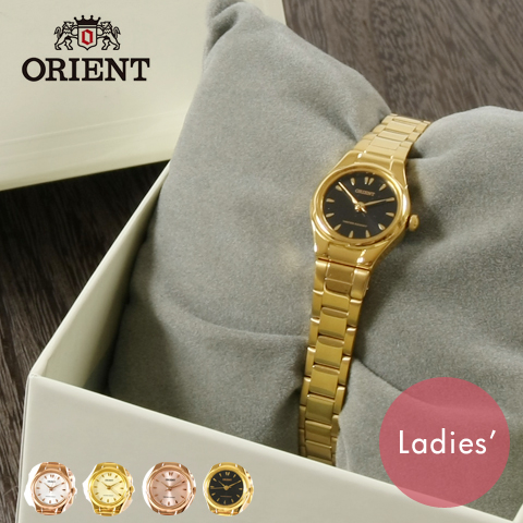 【 腕時計 レディース ブランド 】ORIENT オリエント 丸型 ブレス タイプ 腕時計 サークルウォッチ 女性 レディース ギフト プレゼント