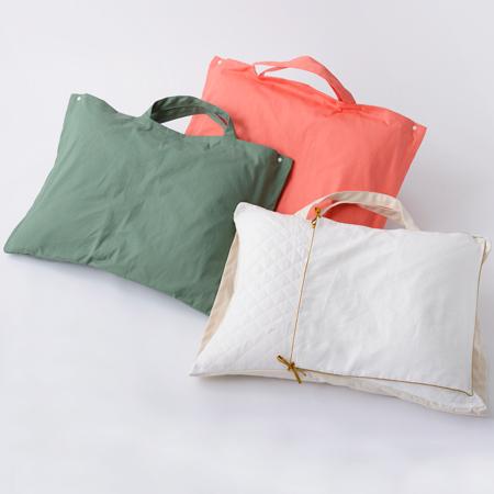 【全3色】ベビーベッディングトートトートバッグ型クーファンプロファイルウレタン使用カバー洗濯可能 京和晒綿紗