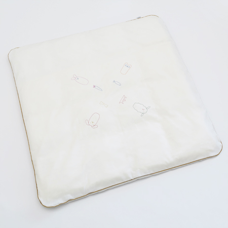 京和晒綿紗 ベビーマット京和晒綿紗ガーゼ100×100cmベビーマット プレイマット