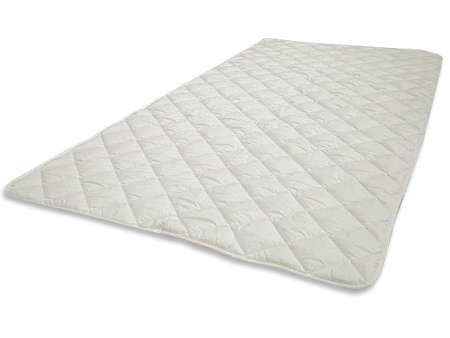 洗える♪ダクロンアクア(4-hole Fiberfill)ベッドパッドサラト ダブル 140×200cm