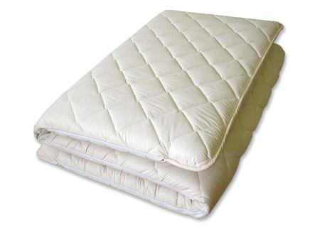 洗える♪ホロフィル(Mat Fiberfill) 脱着敷布団中芯の固綿着脱可能サラト セミダブル 120×205cm