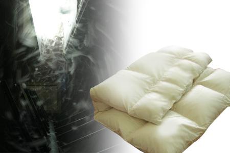''お気に入りの羽毛布団をリペアでお手入れ 羽毛布団リペアデラックスコース 冬用1層〈足し羽毛:ハンガリー産ホワイトグース93%〉〈側生地:#60サテン 150×210cm 新作多数 高い素材 綿100%〉〈仕上がりサイズ:シングルサイズ 〉