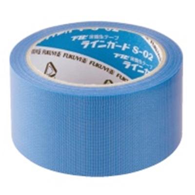 フクビ科学工業 養生テープ ラインガード S-02 50mm幅×25m 30巻【宅急便基本送料無料】