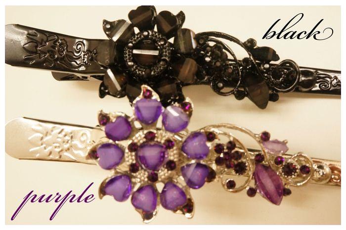 カーテンクリップ カーテンホルダー カーテン クリップ リング リングクリップ リングランナー purple ついに再販開始 宅急便配送 black小 花をモチーフにしたカーテンクリップ 超歓迎された クリップハンガー クリップリング