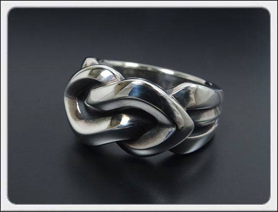 Shin's Sculpture(シンズ スカルプチャー)「Tight Knot Ring
