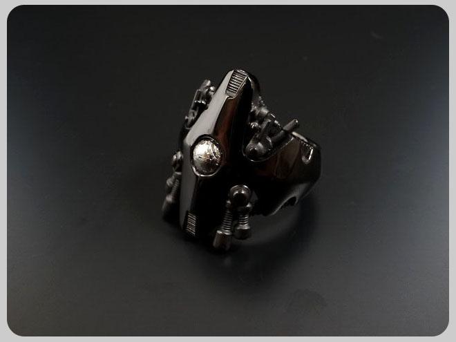 ENER エネル RING-02 BANDITS 無法者 バンディッツ SV BKギベオン隕石 メンズ リング 開業祝 記念品 あす楽(翌日配送)について 還暦祝 子どもの日