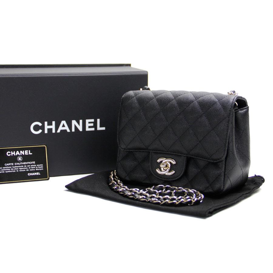 c6476c04f675 BrandValue: Chanel CHANEL chain shoulder bag matelasse CC mark black caviar  skin leather x gold metal fittings Lady's new article - b10104 | Rakuten  Global ...