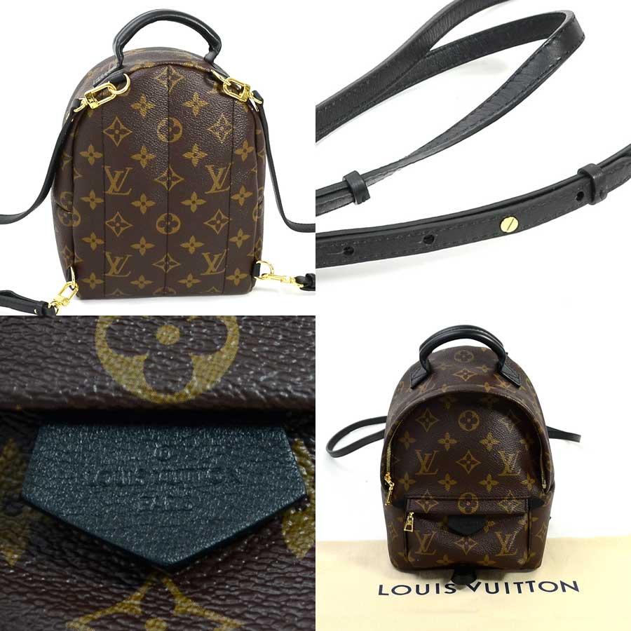 未使用 ルイヴィトン Louis Vuitton リュック モノグラム パームスプリングス バックパック MINI モノグラムブラウン モノグラムキャンバス レディース M41562 値下げ商品d956560y8nOmwvN