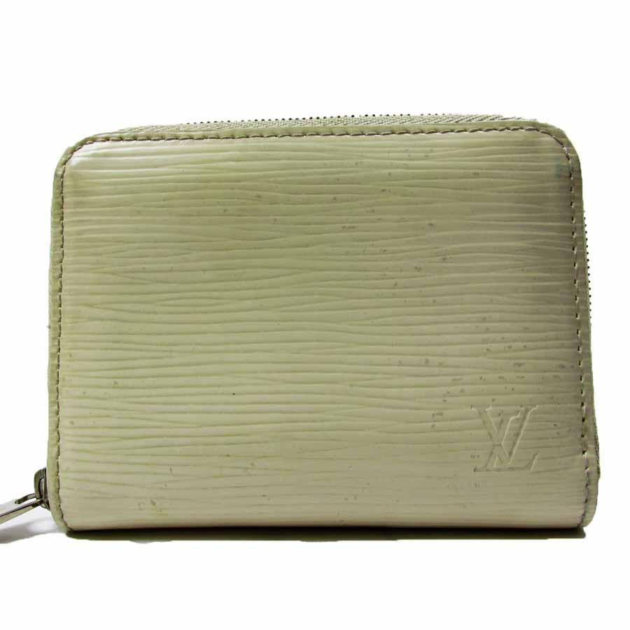 ルイヴィトン Louis Vuitton コインケース兼カードケース エピ ジッピー・コインパース イヴォワール エピレザー M6015J 【中古】【定番人気】 - t6576