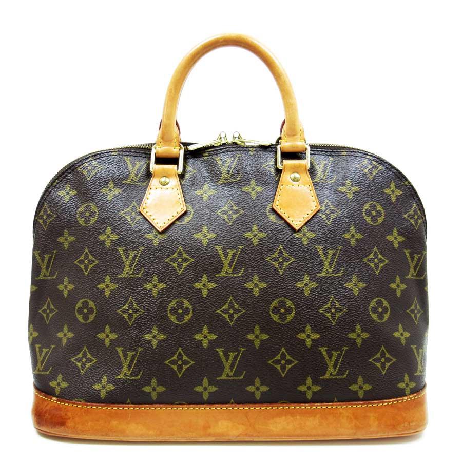 ルイヴィトン Louis Vuitton ハンドバッグ モノグラム アルマ モノグラムキャンパス レディース M51130 【中古】【定番人気】 - t9153