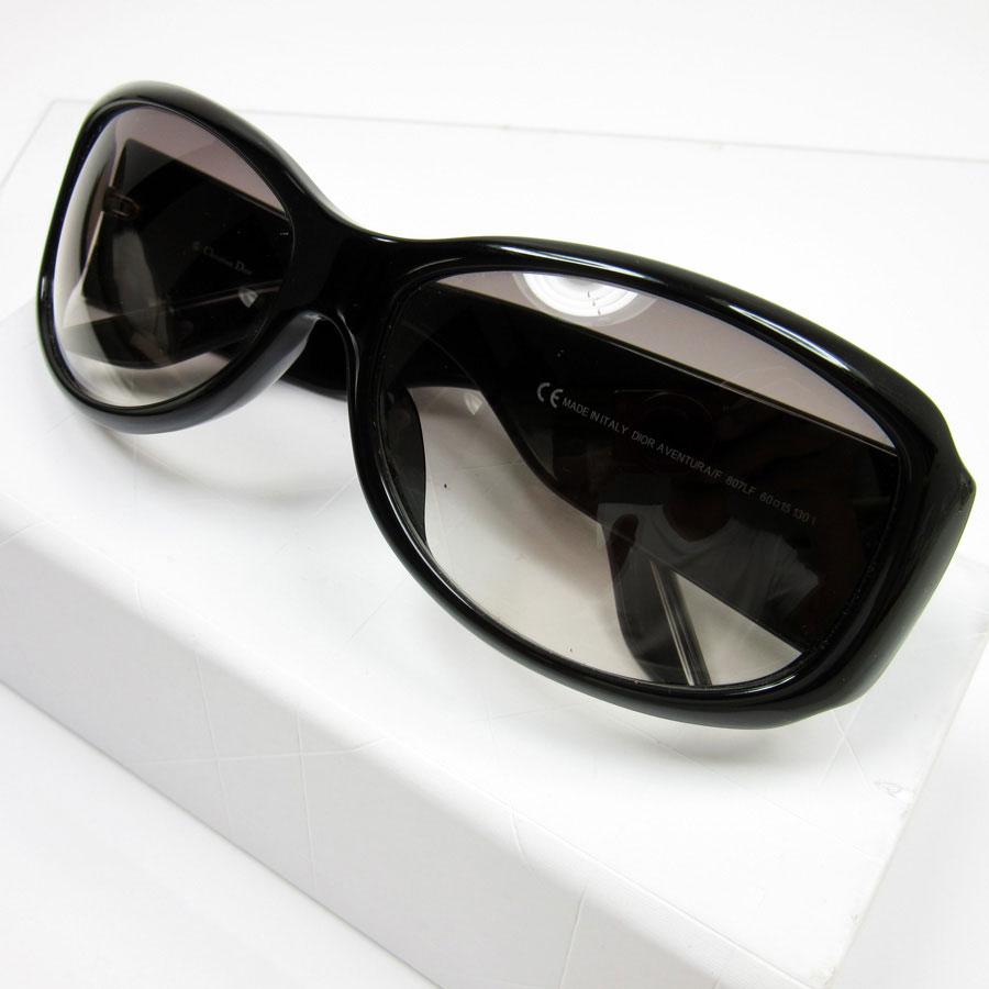 5257debc5e A Christian Dior  Christian Dior  logo sunglasses 60 □ 15 130 lady s lens   A light purple gradation frame  Black x silver plastic  used  constant  seller ...