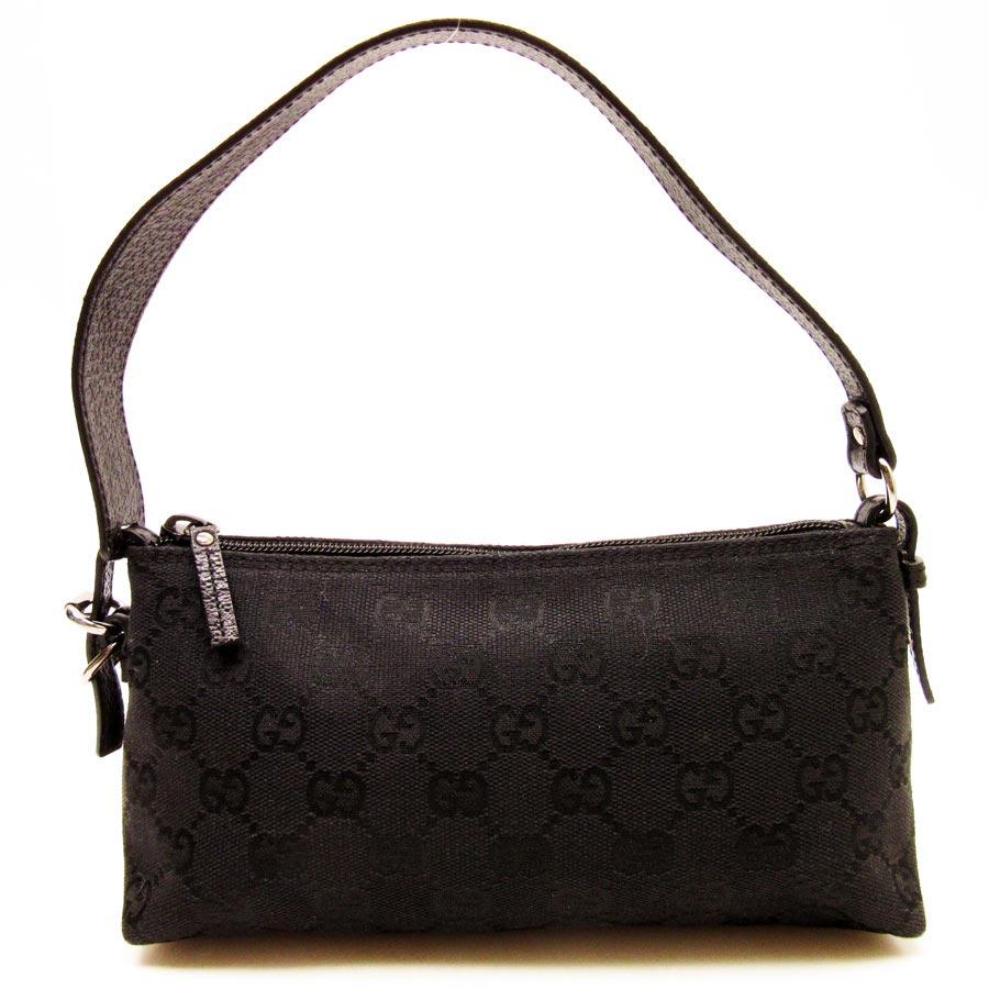 172c144dca947a BrandValue: Gucci GUCCI mini-handbag accessories porch GG pattern ◇ black  GG canvas x leather ◇ constant seller popularity ◇ Lady's - n8146 | Rakuten  ...