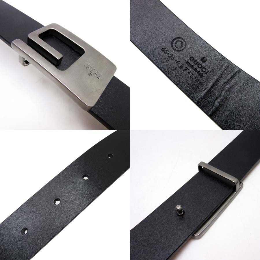 9b0ac784c4e  there is reason  It is Gucci  GUCCI  G buckle G buckle belt (65 26) belt   used   A black buckle  A gray belt  A leather buckle  Metal material