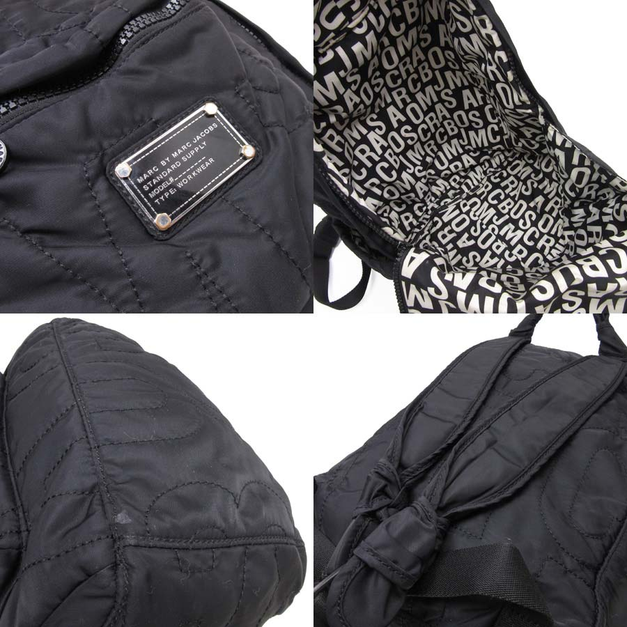 c1d1257cb6 [basic popularity] [used] mark by mark Jacobs [MARC BY MARC JACOBS] rucksack  backpack Lady's men black nylon