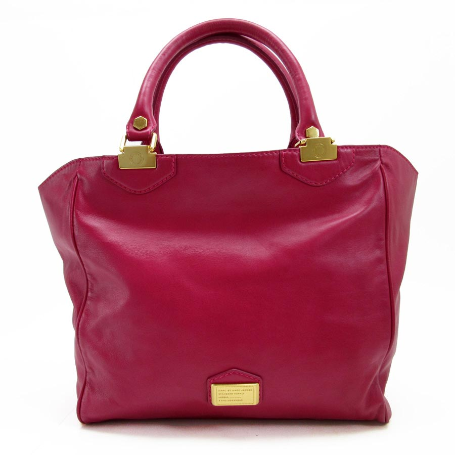 Brandvalue Mark By Jacobs Marc Shoulder Bag Tote Red X Gold Leather Lady S T12196 Rakuten Global Market