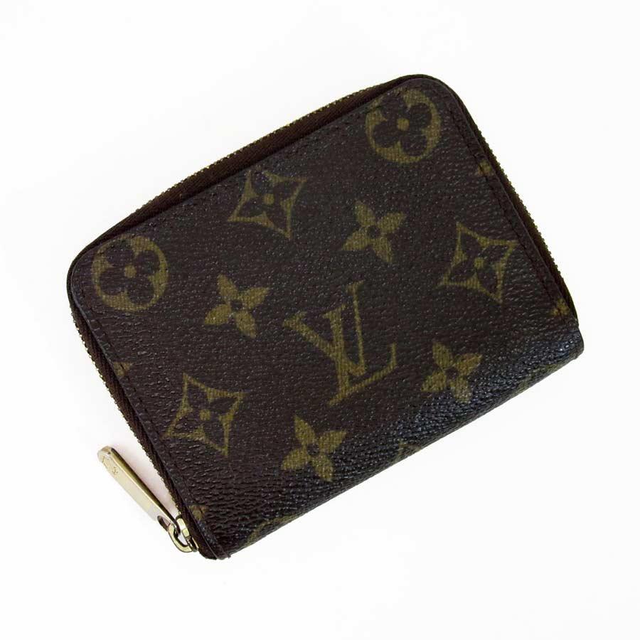 【定番人気】【中古】ルイヴィトン Louis Vuitton コインケース カードケース モノグラム ジッピー・コインパース モノグラムキャンバス レディース メンズ M60067 - a1071