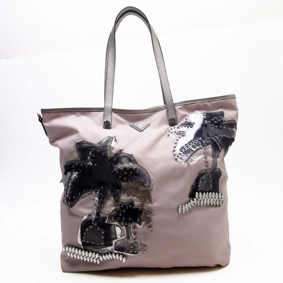 0a880ce757cb ... discount brandvalue rakuten global market prada prada shoulder bag tote  bag palm tree motif triangle logo