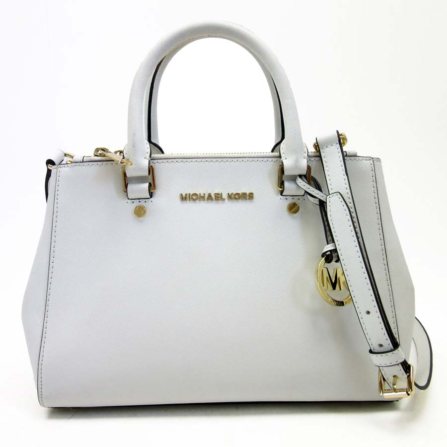 f455b34c402 Take Michael Kors MICHAEL KORS handbag slant; shoulder bag 2Way bag  off-white PVC Lady's - t12509