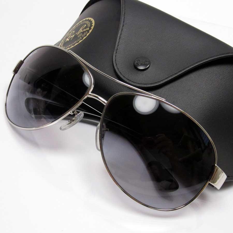 84e8798e0e3  basic popularity   used  Ray-Ban  Ray-Ban  teardrop sunglasses (67 □ 13)  lens  Black frame   temple  Silver x black plastic x metal