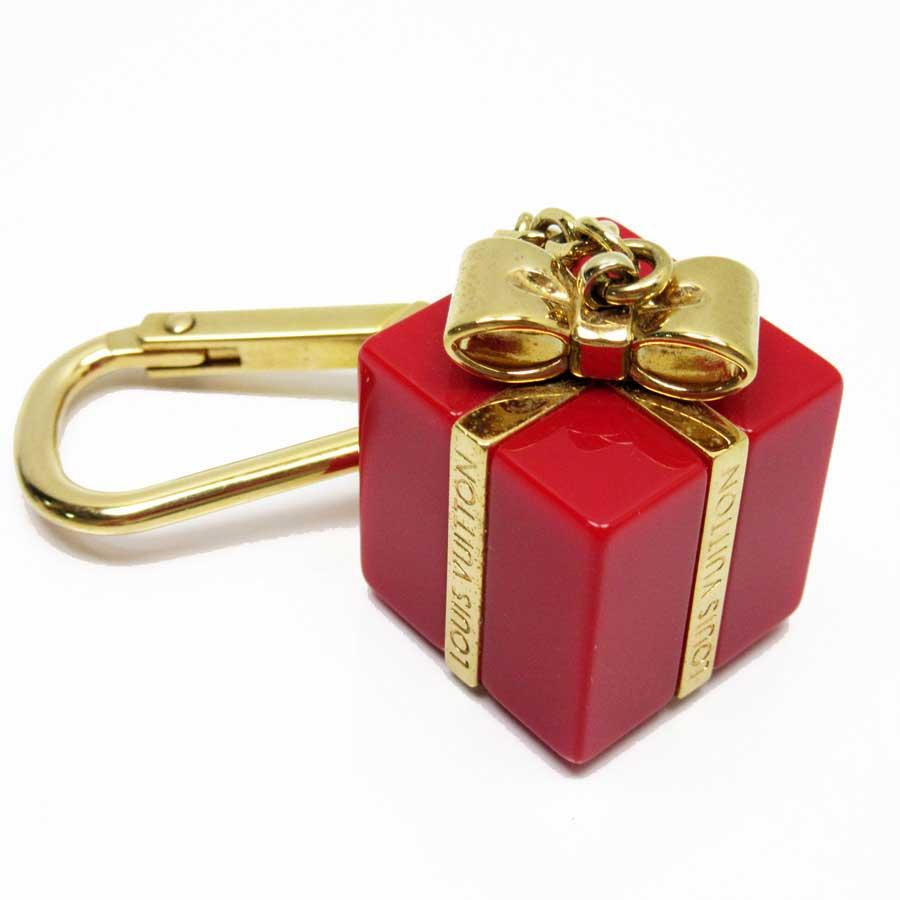 ルイヴィトン Louis Vuitton キーホルダー チャーム ビジューサック サプライズ ゴールドxポムダムール GPxプラスチック レディース M66188 【中古】【定番人気】 - n8813
