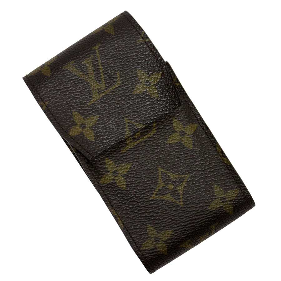 ルイヴィトン Louis Vuitton シガレットケース モノグラム エテュイシガレット モノグラムキャンバス レディース メンズ M63024 【中古】【定番人気】 - t13845