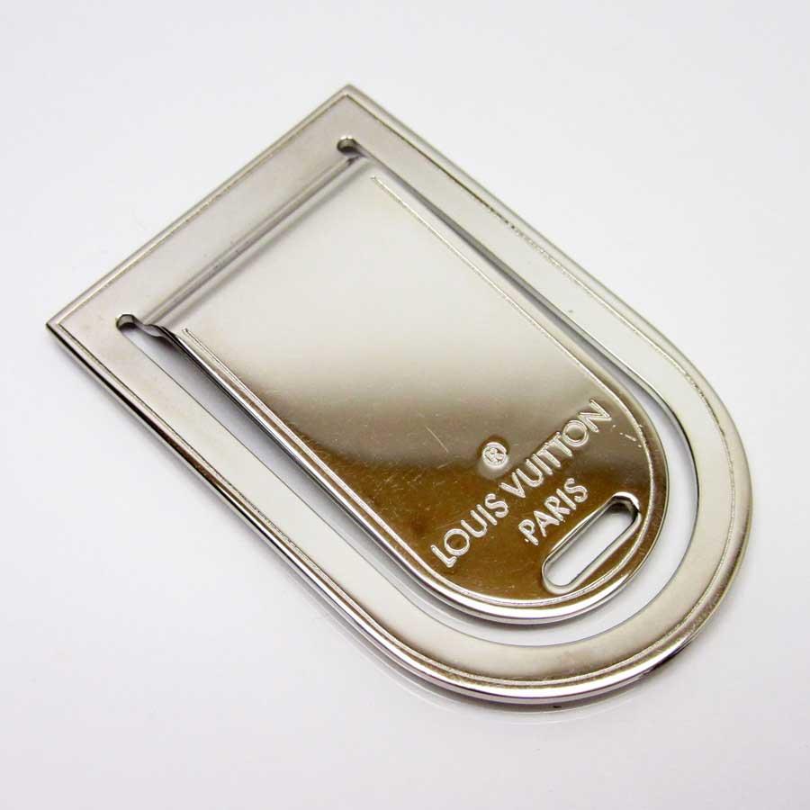 ルイヴィトン Louis Vuitton マネークリップ パンス ア ビエ ポルトアドレス シルバー 金属素材 レディース メンズ M65067 【中古】【定番人気】 - n8852