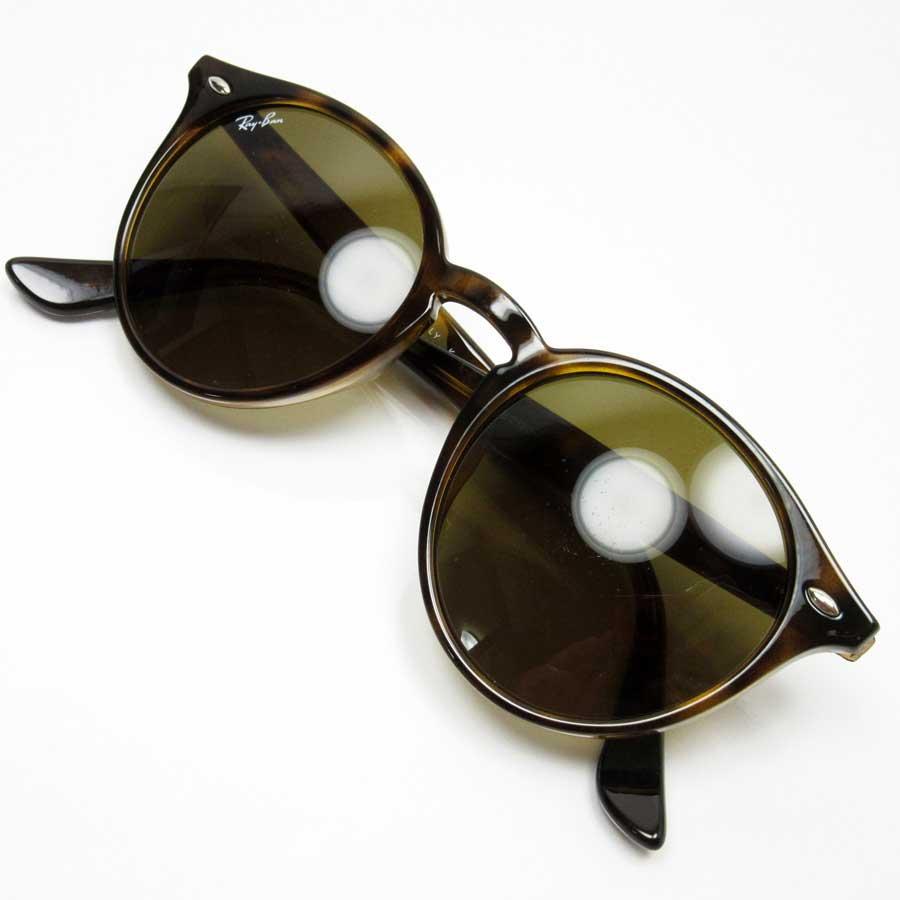 3b8b3e74e3  basic popularity   used  a Ray-Ban  Ray-Ban  round sunglasses (51 □ 20  150) lady s men s frame  A tortoiseshell lens  Brown plastic