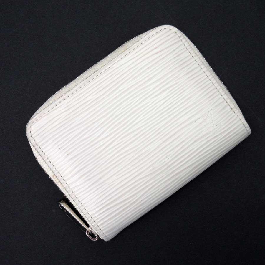 ルイヴィトン Louis Vuitton コインケース カードケース エピ ジッピー・コインパース イヴォワール(オフホワイト系) エピレザー M6015J 【中古】【定番人気】 - t14108