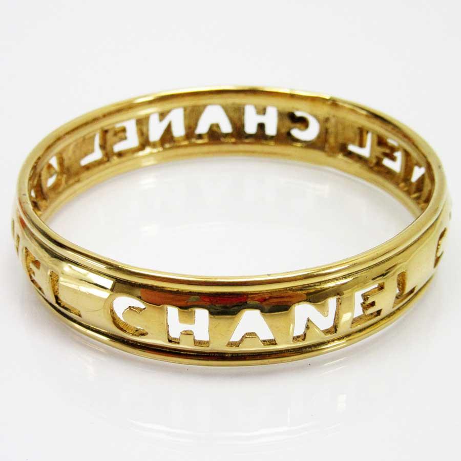 0fb880a12d81 【定番人気】 【中古】シャネル【CHANEL】 ブレスレット バングル レディース ゴールド 金属素材